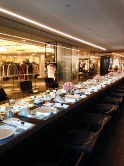 YMA Fashion scholarship breakfast at Barneys NYC