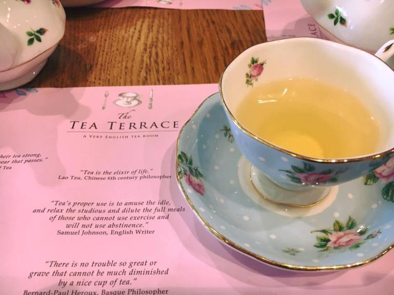 Tea terrace house of fraser London